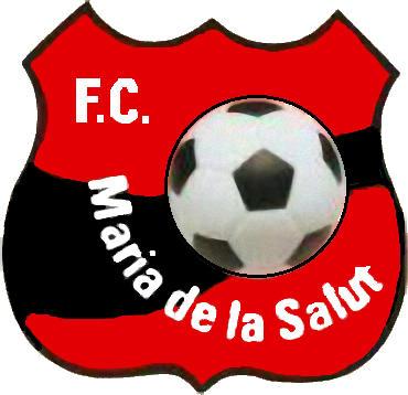 Escudo de F.C. MARÍA DE LA SALUT (ISLAS BALEARES)