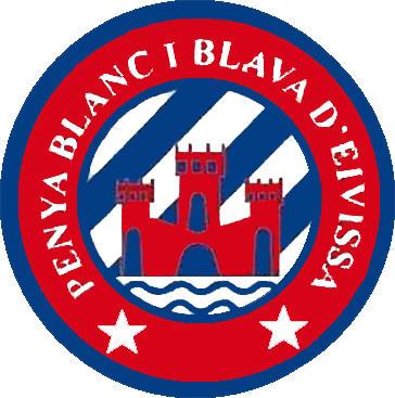 Escudo de PENYA BLANC I BLAVA D'EIVISSA (ISLAS BALEARES)