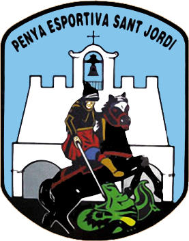 Escudo de PENYA ESPORTIVA SANT JORDI (ISLAS BALEARES)
