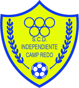 Escudo de S.C.D. INDEPENDIENTE CAMP REDÓ (ISLAS BALEARES)