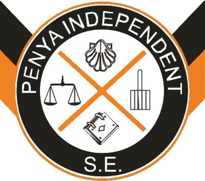 Escudo de S.E. PENYA INDEPENDENT (ISLAS BALEARES)