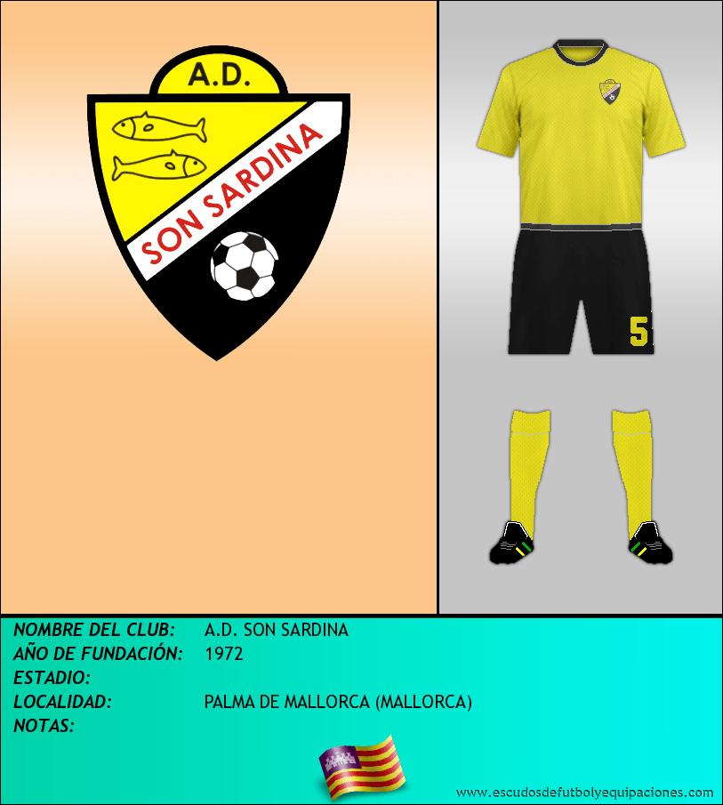 Escudo de A.D. SON SARDINA