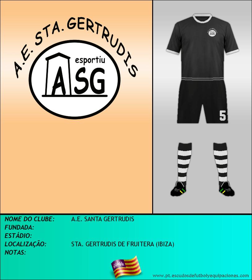 Escudo de A.E. SANTA GERTRUDIS