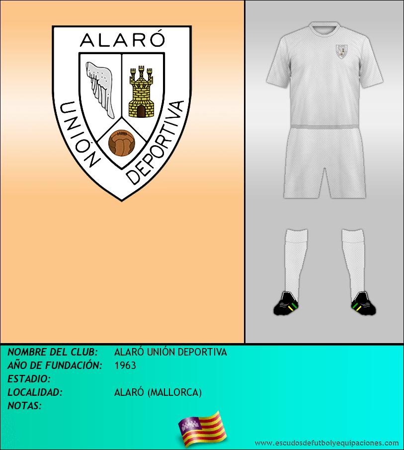 Escudo de ALARÓ UNIÓN DEPORTIVA