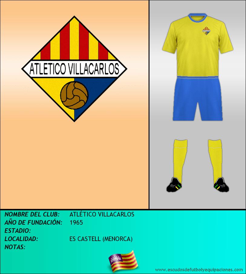 Escudo de ATLÉTICO VILLACARLOS