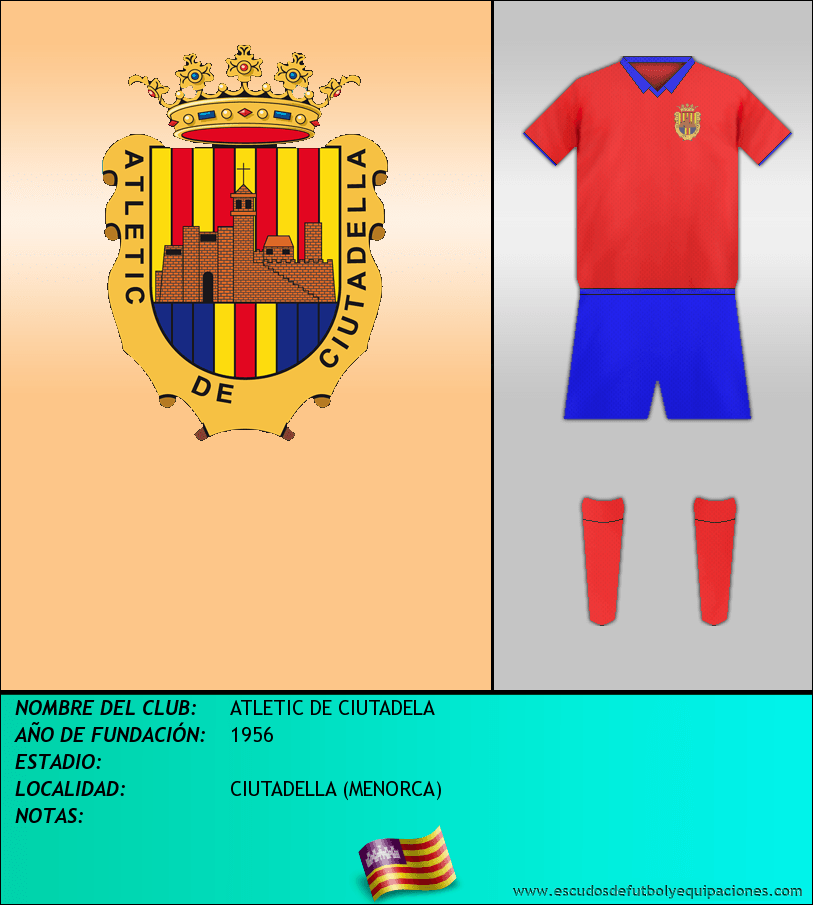 Escudo de ATLETIC DE CIUTADELA