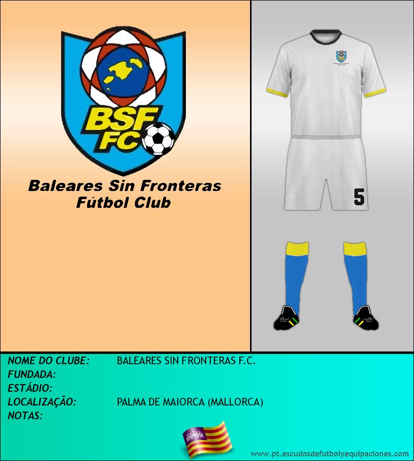 Escudo de BALEARES SIN FRONTERAS F.C.