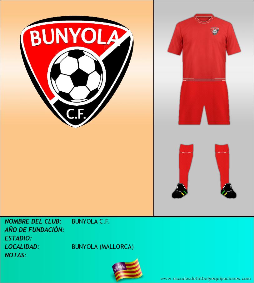 Escudo de BUNYOLA C.F.