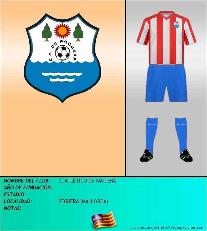 Escudo de C. ATLÉTICO DE PAGUERA