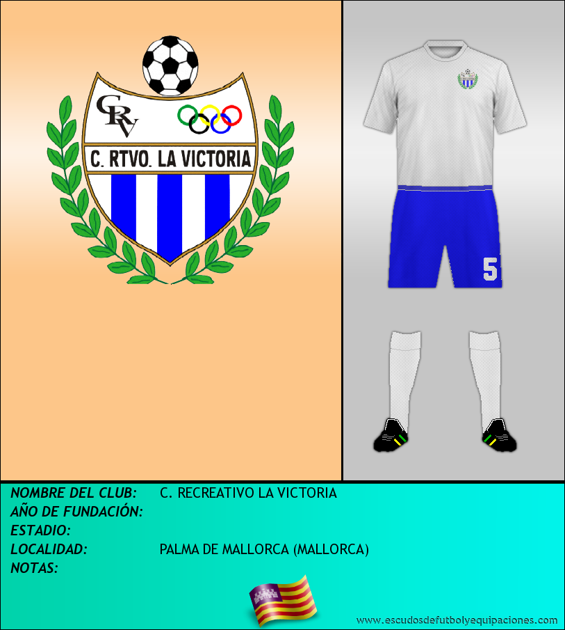 Escudo de C. RECREATIVO LA VICTORIA