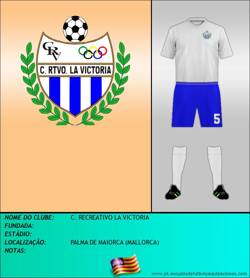Escudo de C. RECREATIVO LA VICTORIA