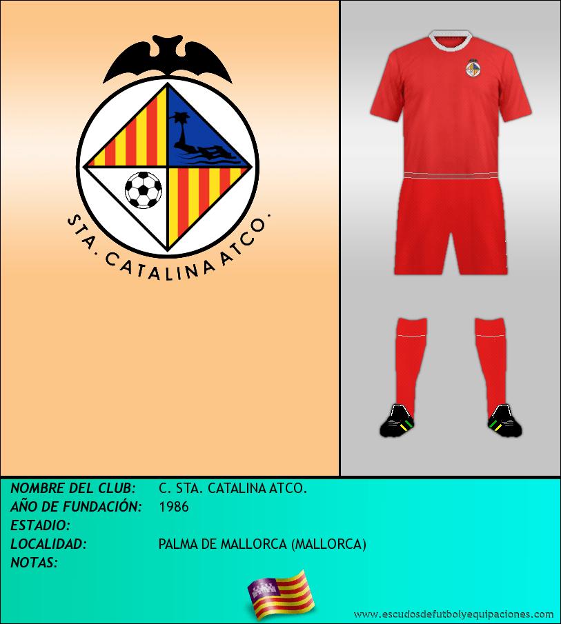 Escudo de C. STA. CATALINA ATCO.