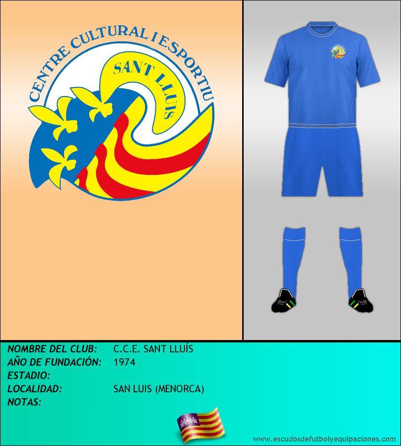 Escudo de C.C.E. SANT LLUÍS
