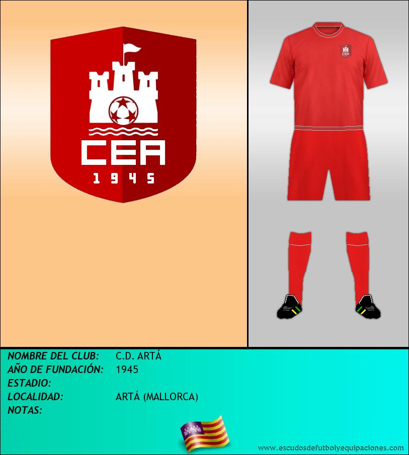 Escudo de C.D. ARTÁ