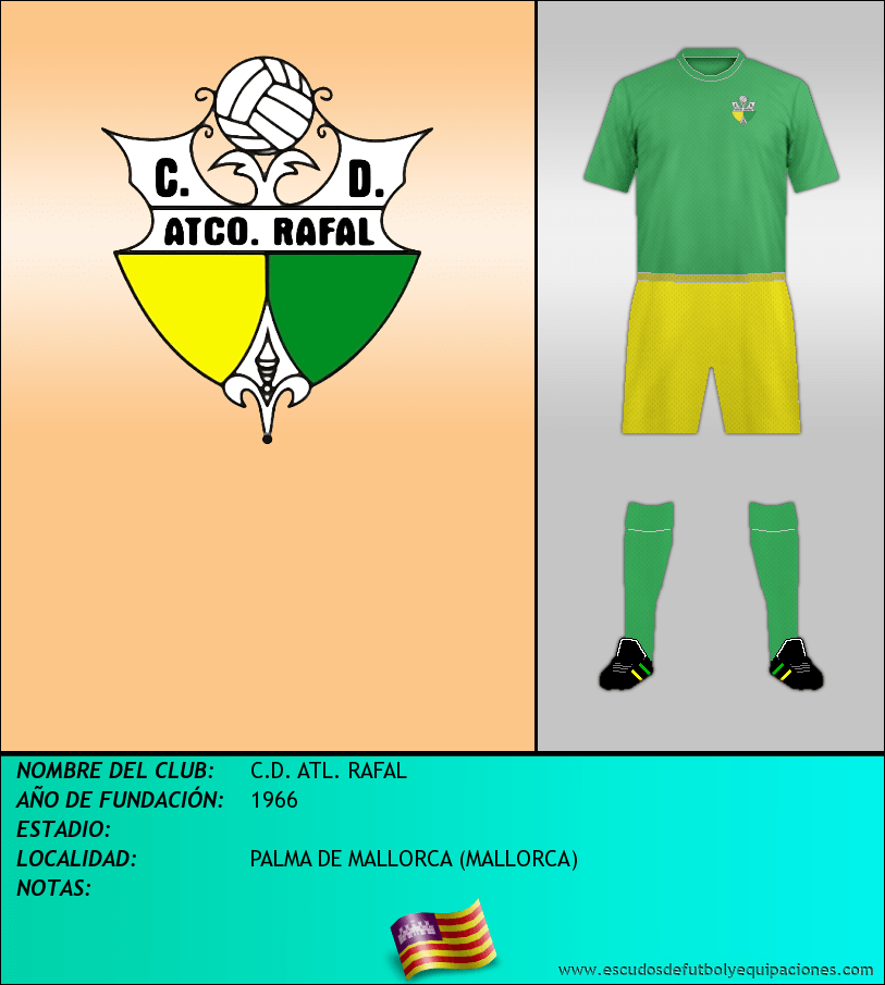 Escudo de C.D. ATL. RAFAL