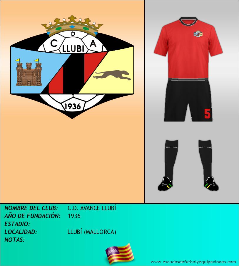 Escudo de C.D. AVANCE LLUBÍ