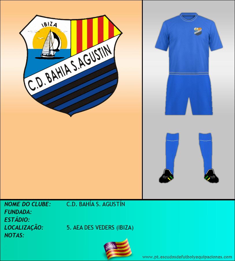 Escudo de C.D. BAHÍA S. AGUSTÍN