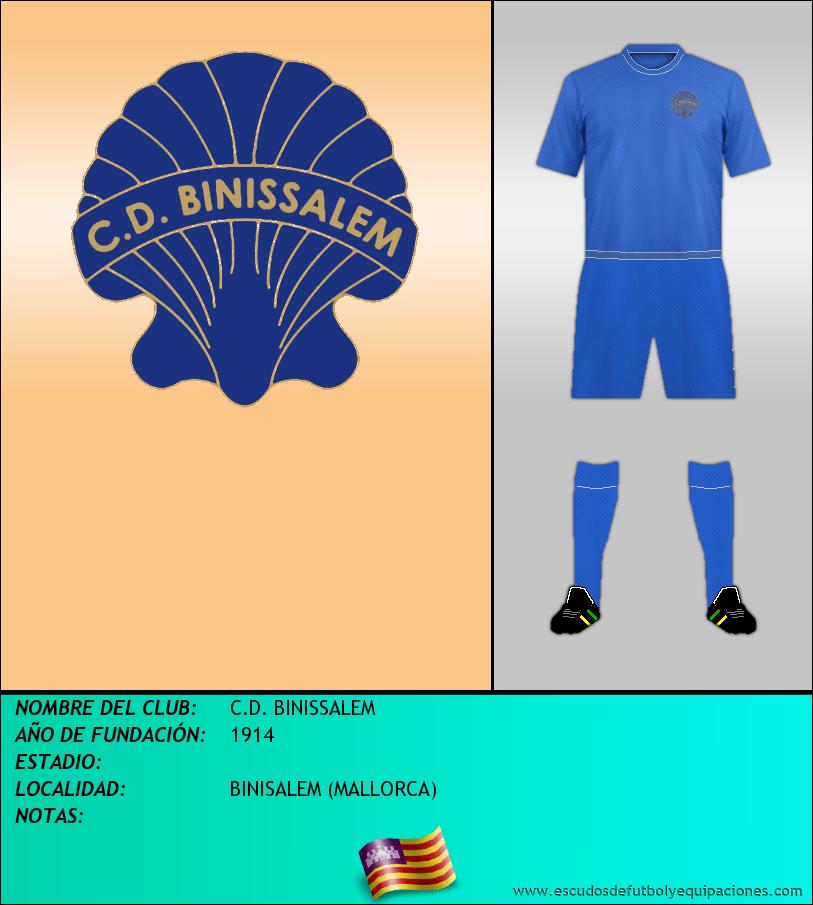 Escudo de C.D. BINISSALEM