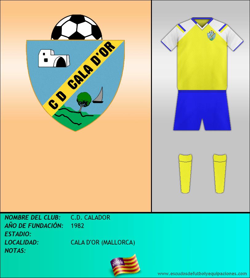 Escudo de C.D. CALADOR