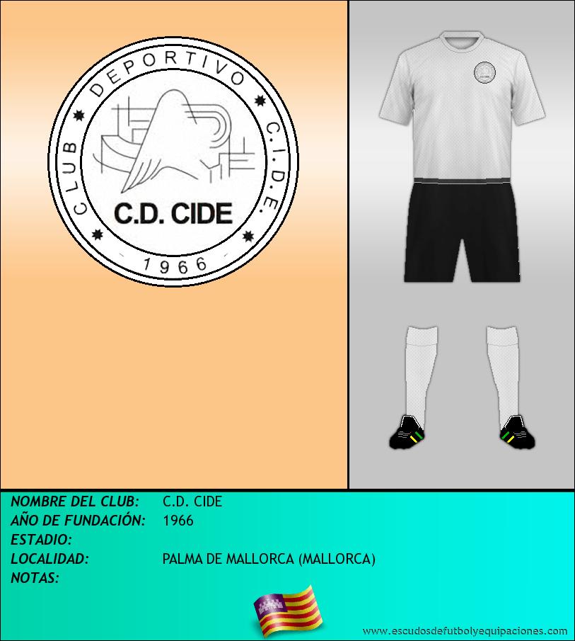 Escudo de C.D. CIDE