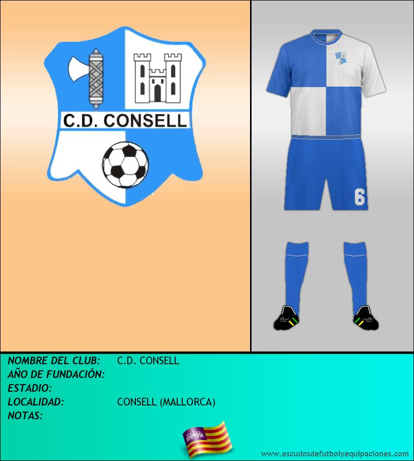 Escudo de C.D. CONSELL