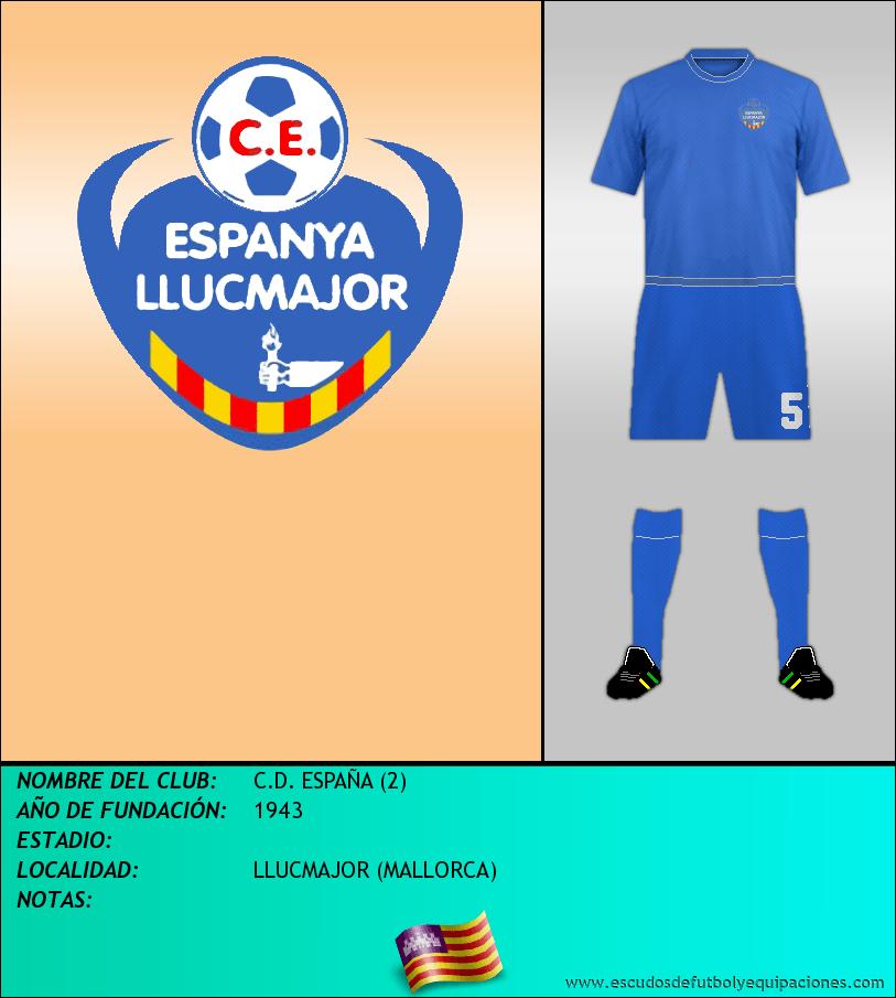 Escudo de C.D. ESPAÑA (2)