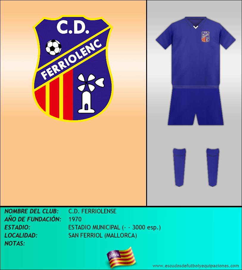 Escudo de C.D. FERRIOLENSE