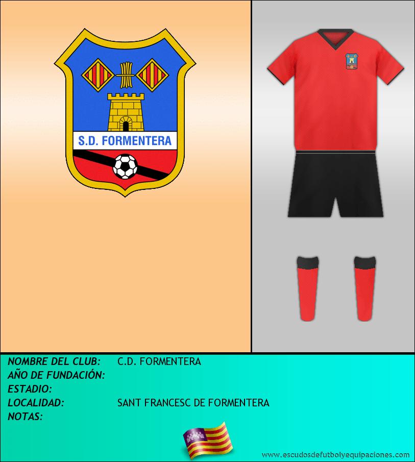 Escudo de C.D. FORMENTERA