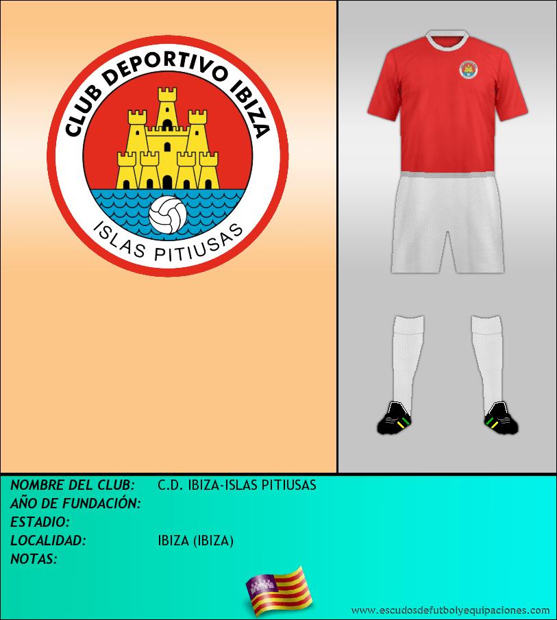 Escudo de C.D. IBIZA-ISLAS PITIUSAS