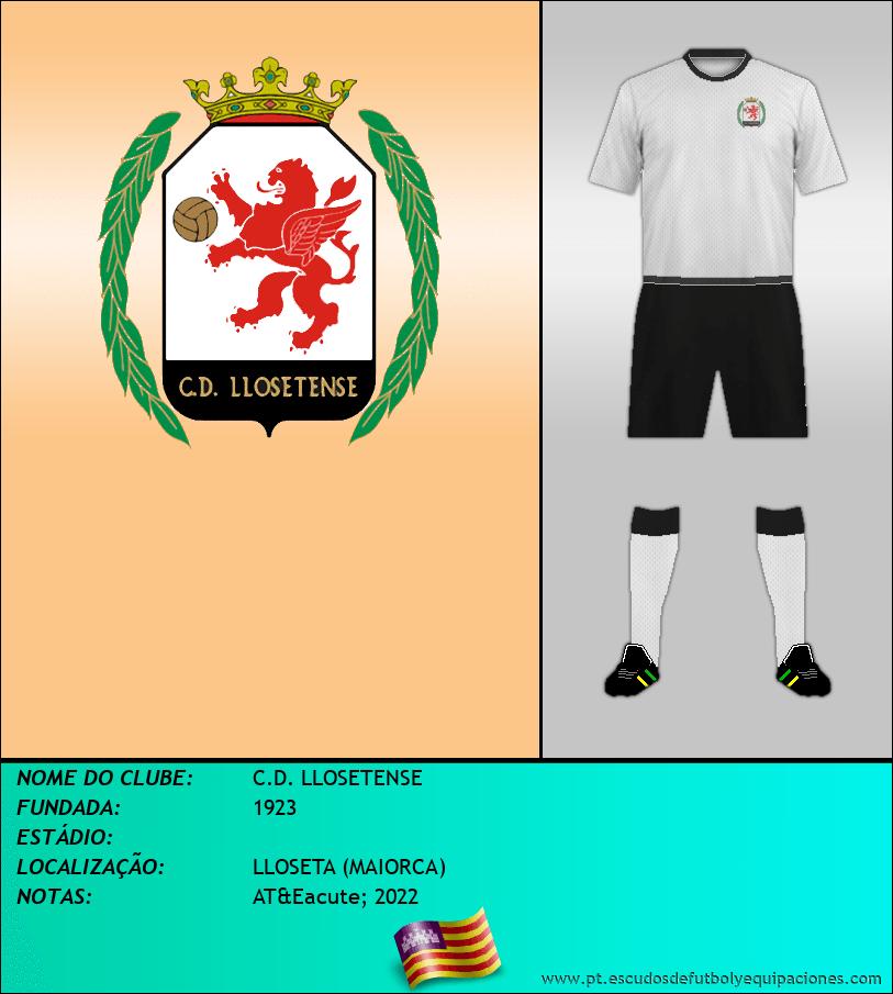 Escudo de C.D. LLOSETENSE