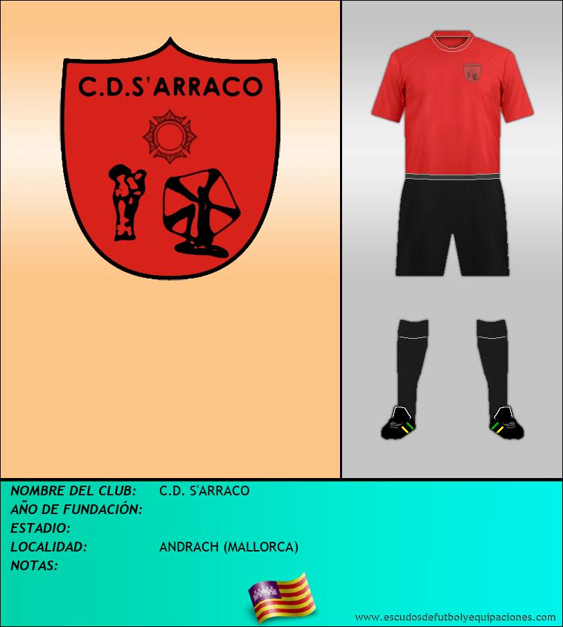 Escudo de C.D. S'ARRACO