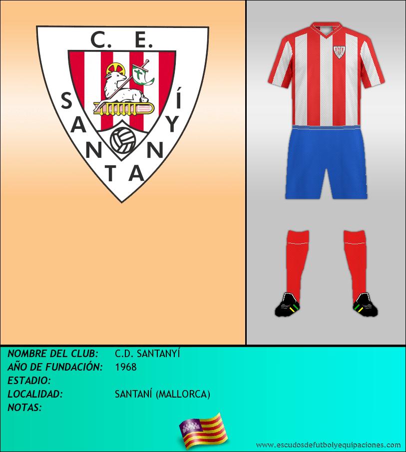 Escudo de C.D. SANTANYÍ