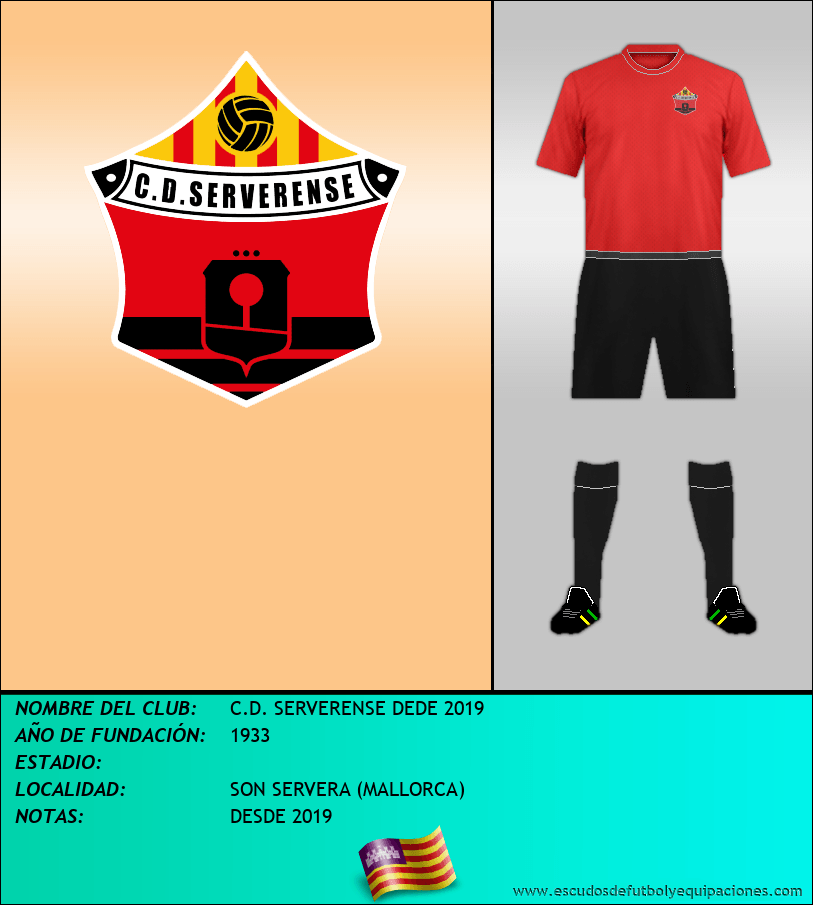 Escudo de C.D. SERVERENSE DEDE 2019
