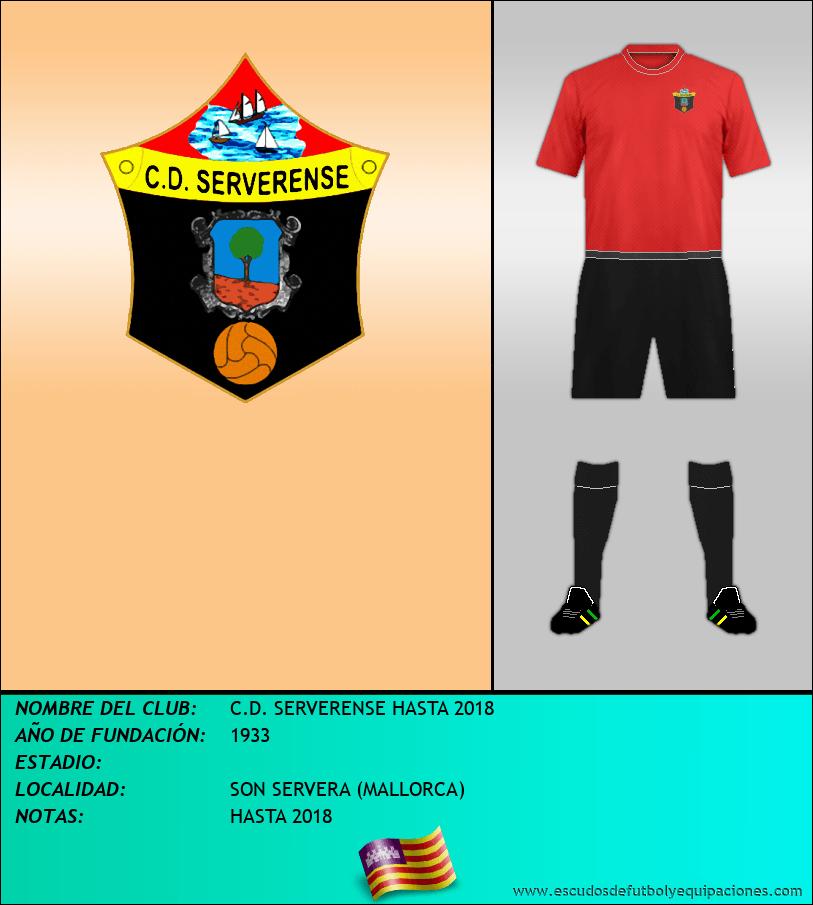 Escudo de C.D. SERVERENSE HASTA 2018