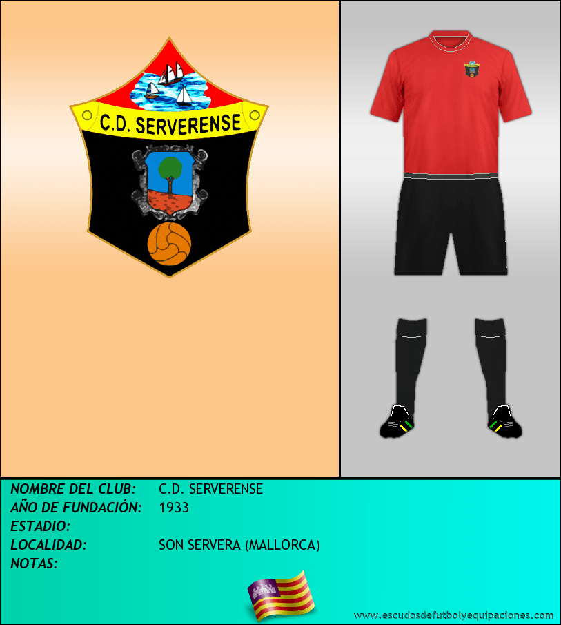 Escudo de C.D. SERVERENSE