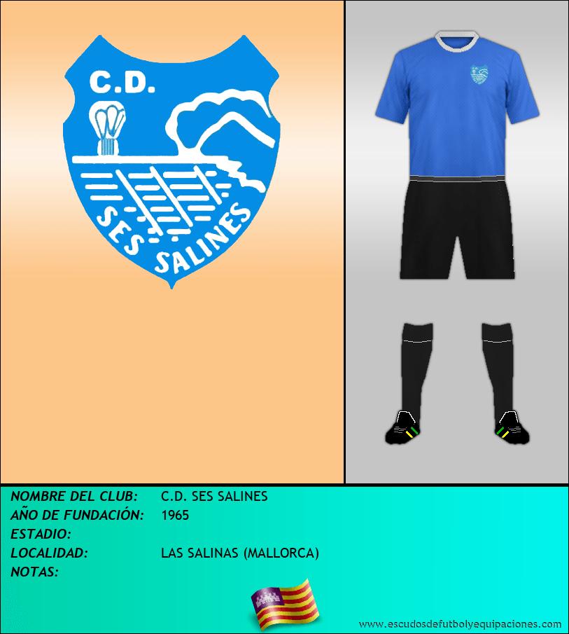 Escudo de C.D. SES SALINES