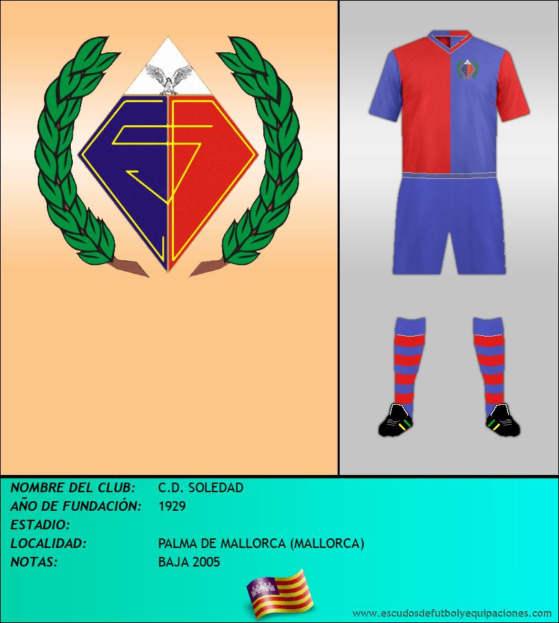 Escudo de C.D. SOLEDAD