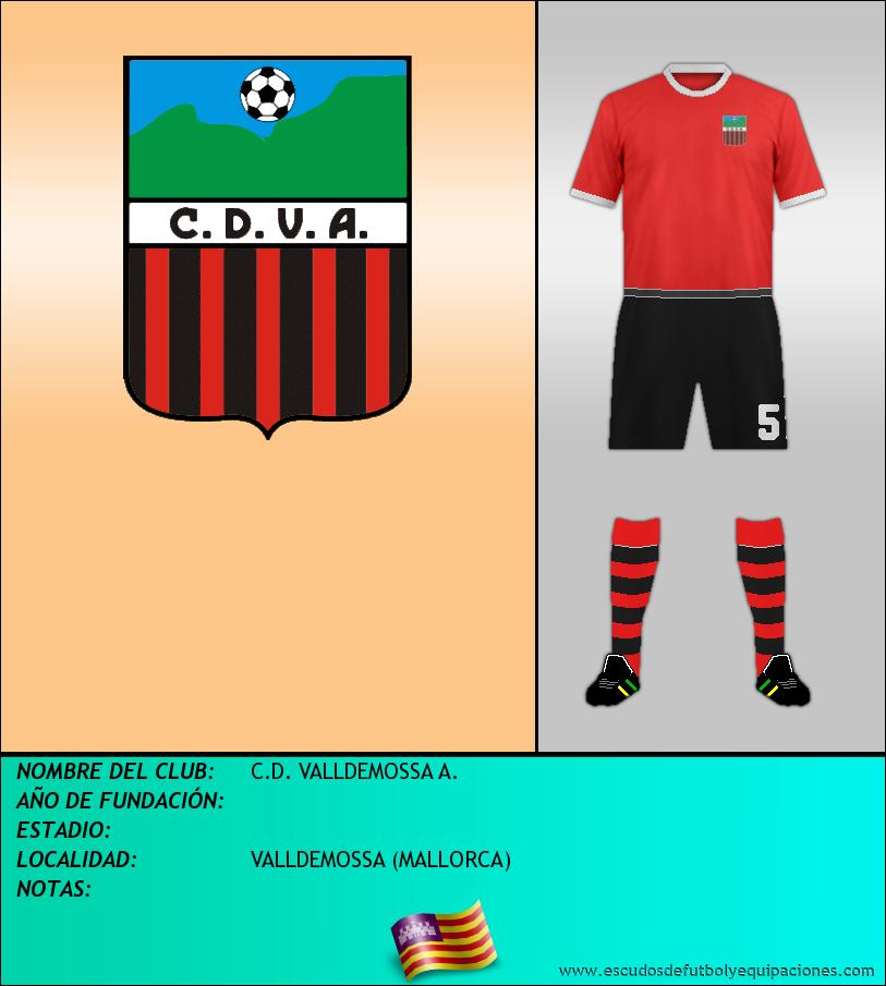 Escudo de C.D. VALLDEMOSSA A.