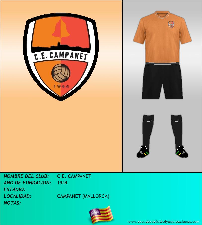 Escudo de C.E. CAMPANET