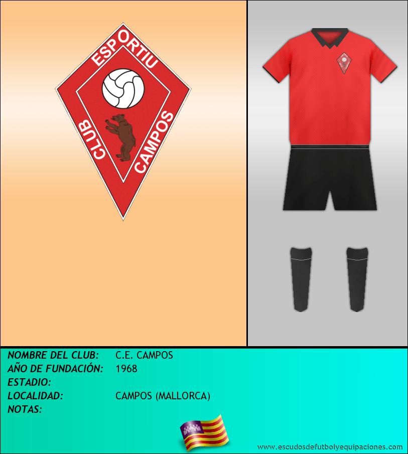 Escudo de C.E. CAMPOS