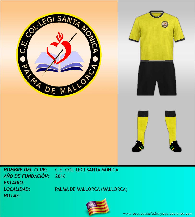 Escudo de C.E. COL-LEGI SANTA MÓNICA
