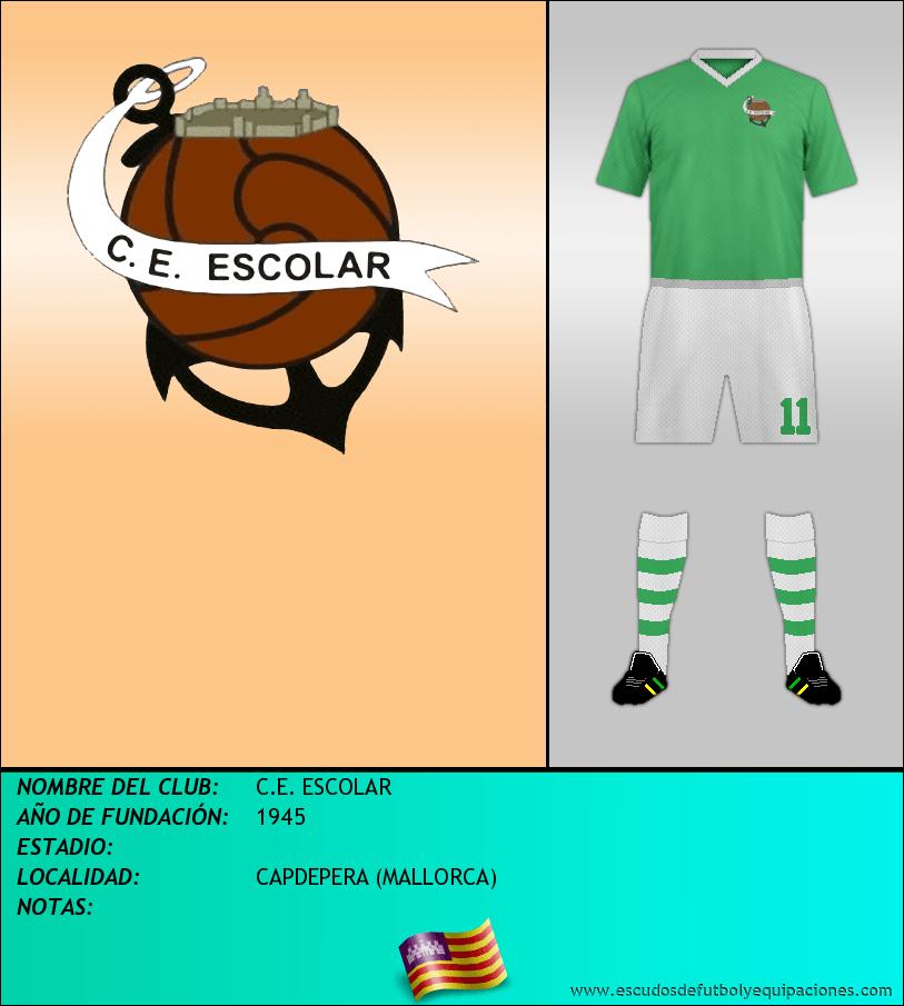 Escudo de C.E. ESCOLAR