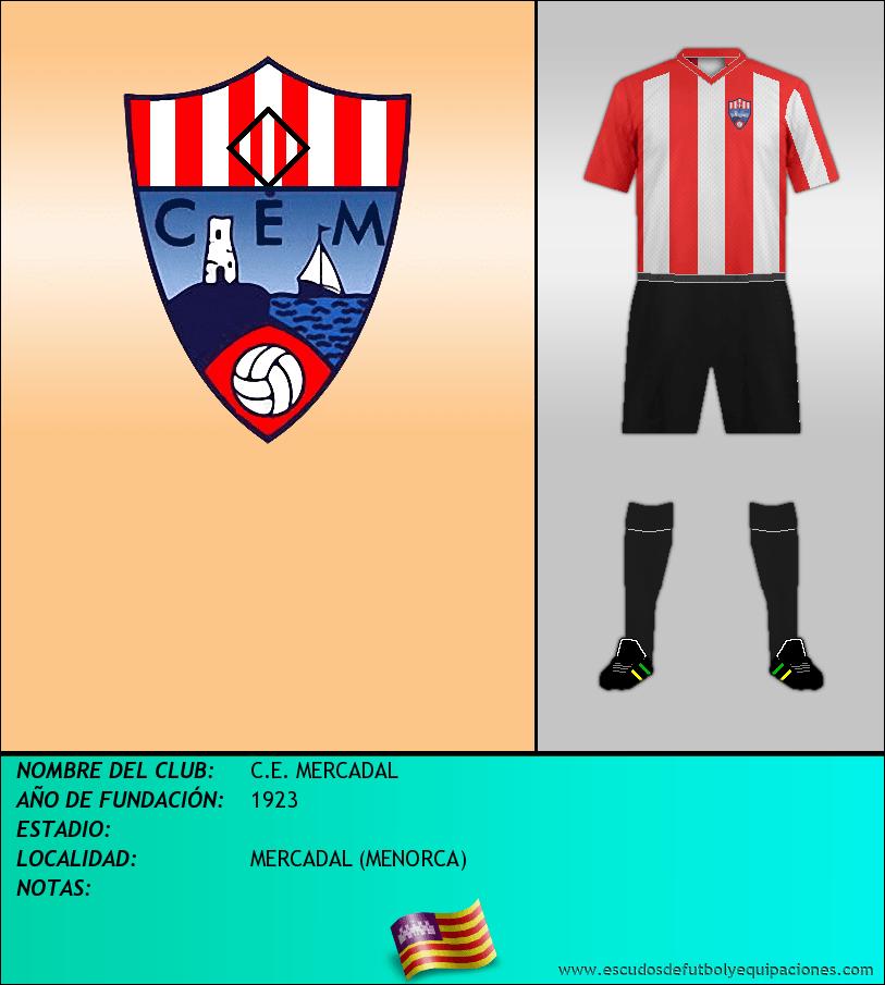 Escudo de C.E. MERCADAL