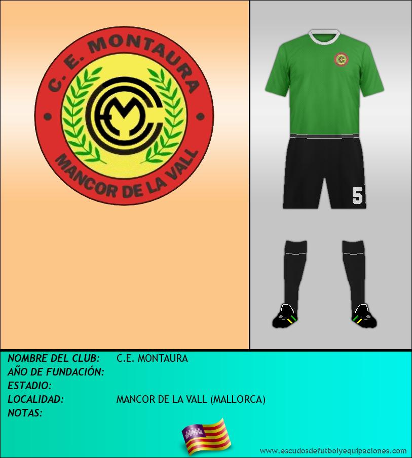 Escudo de C.E. MONTAURA