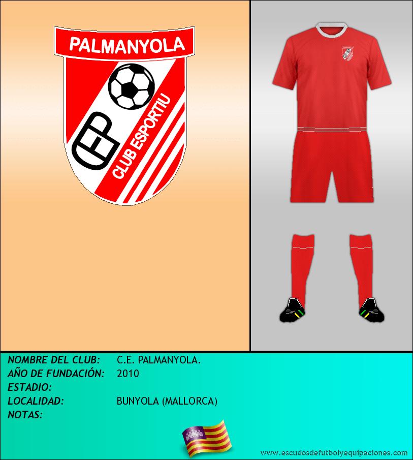 Escudo de C.E. PALMANYOLA.