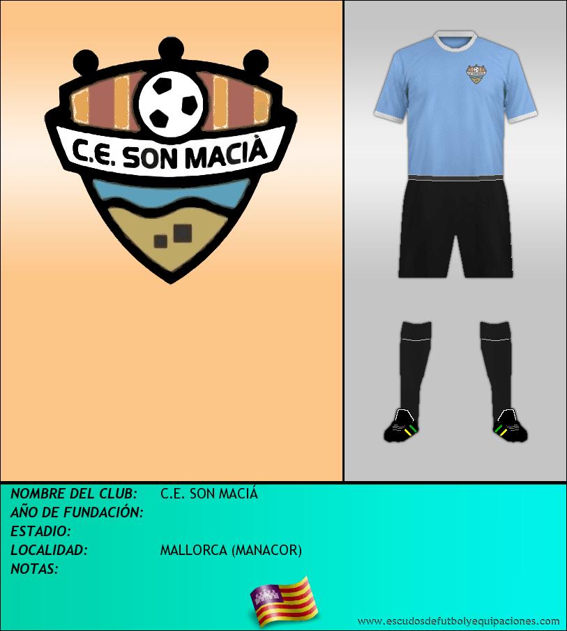 Escudo de C.E. SON MACIÁ