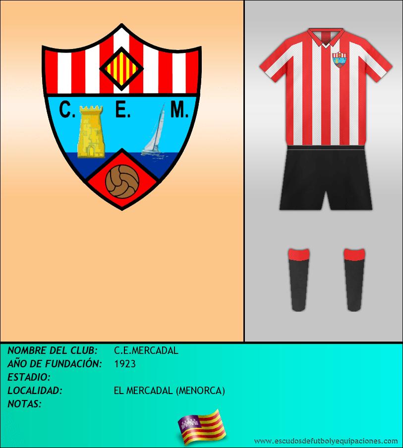 Escudo de C.E.MERCADAL