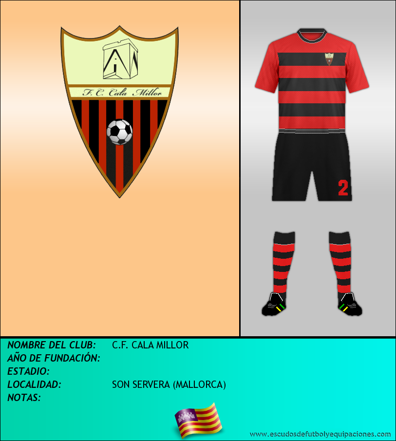 Escudo de C.F. CALA MILLOR