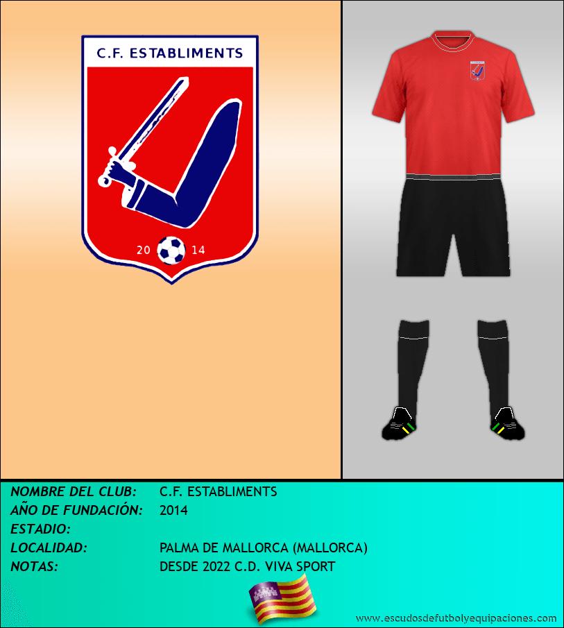 Escudo de C.F. ESTABLIMENTS