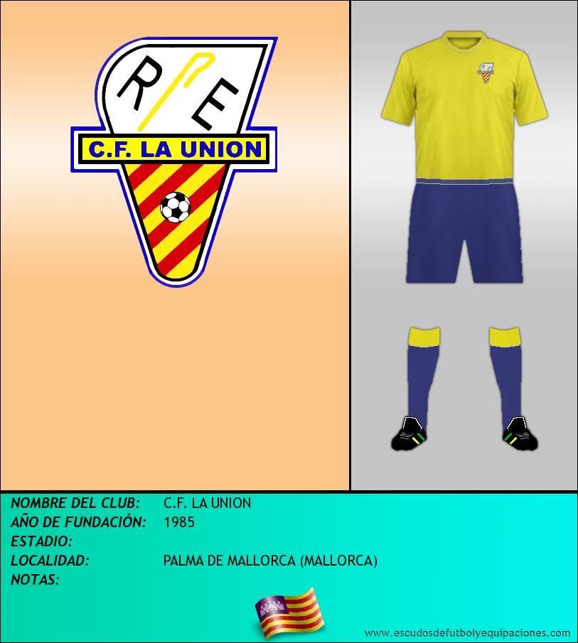 Escudo de C.F. LA UNION